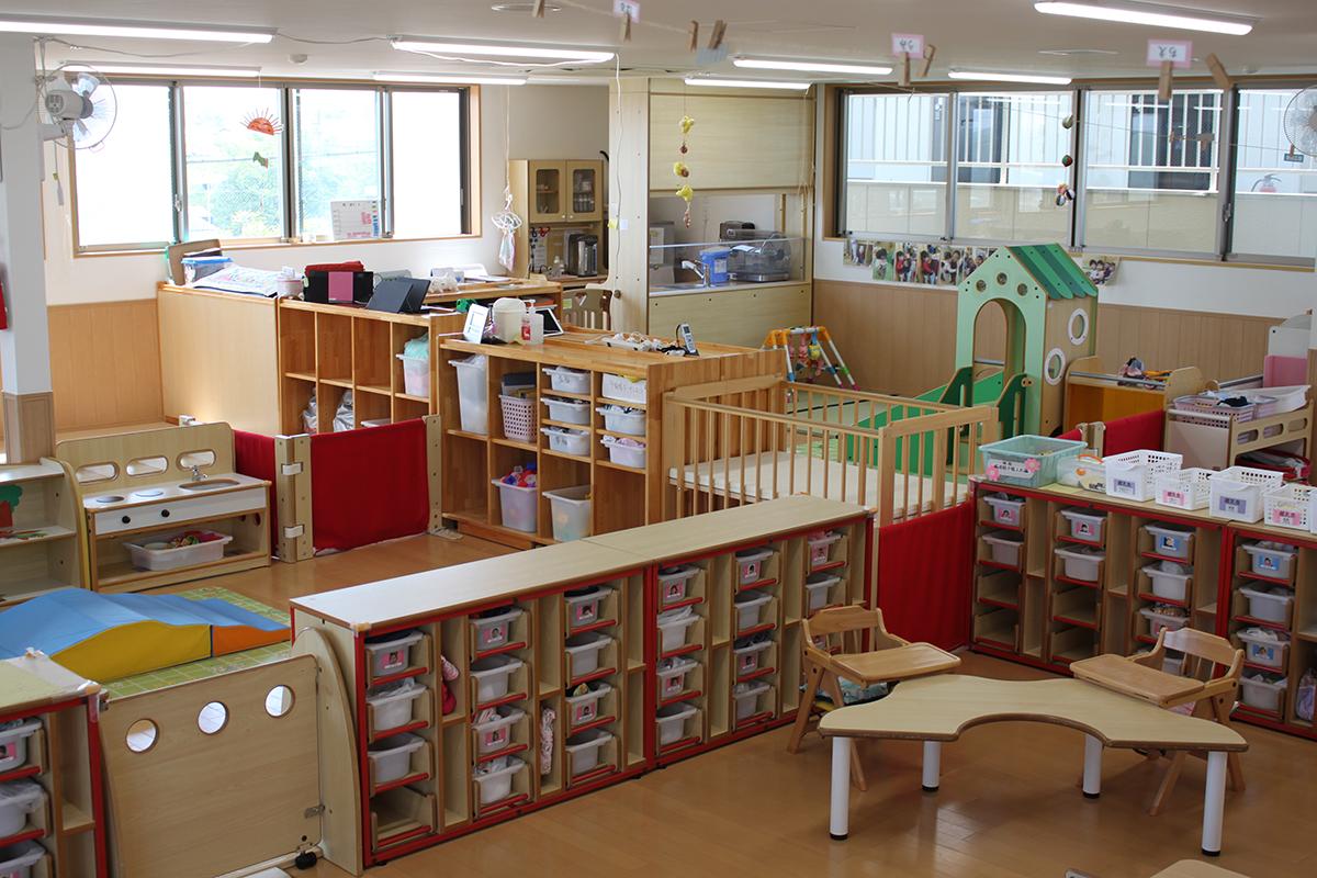 0歳児室・1歳児室